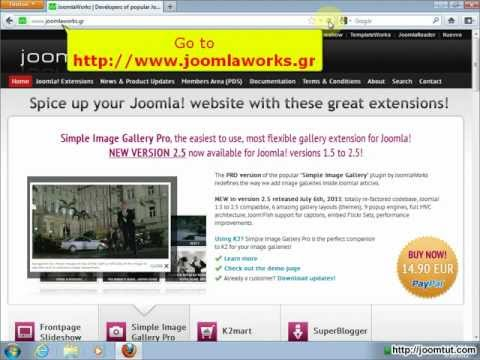 Install And Using AllVideos In Joomla! 2.5