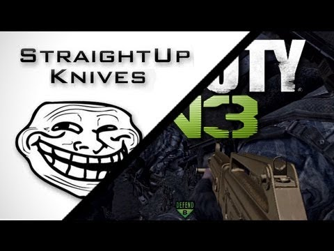 MW3/MW2 Trolling with Straight Up Knives and KYR SP33DY