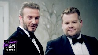 Video The Next James Bond - David Beckham v James Corden MP3, 3GP, MP4, WEBM, AVI, FLV September 2017