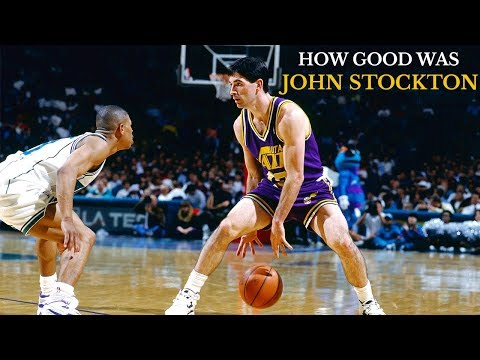 How Good Was John Stockton? : A Player Analysis