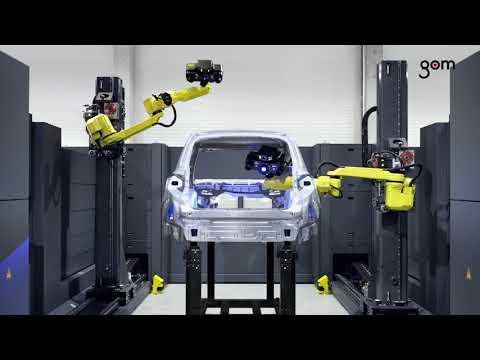 ATOS 5X - Automated Fringe 3D Laser Scanner