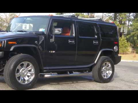 2008 Hummer H2 For Sale~Black & Sedona~Navigation~DVD~New 2009 20″ Rims~ONLY 1,945 MIles