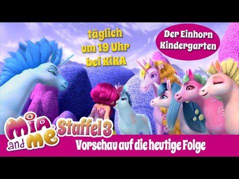 Der Einhorn Kindergarten - Mia and me Staffel 3 - Vorschau auf die heutige Folge (видео)