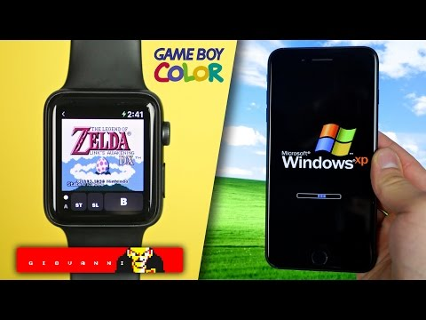 Game Boy Color on Apple Watch & Windows XP on iPhone! + More Apple News