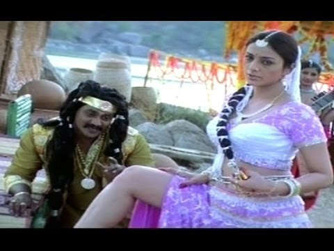Pandurangadu Comedy Scene   Hot Beauty Tabu Tempts Sunil 05 December 2013 06 PM