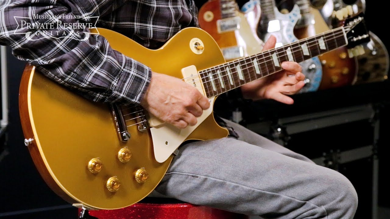 Gibson Custom 1956 Les Paul Goldtop PSL Electric Guitar