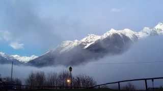 Nebbia time lapse-7 dicembre 2014