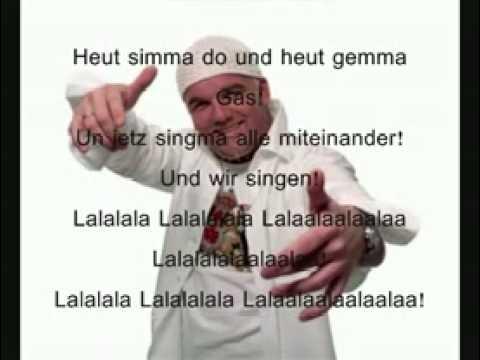 Dj Ötzi Never Stop The Alpenpop With Lyrics (видео)