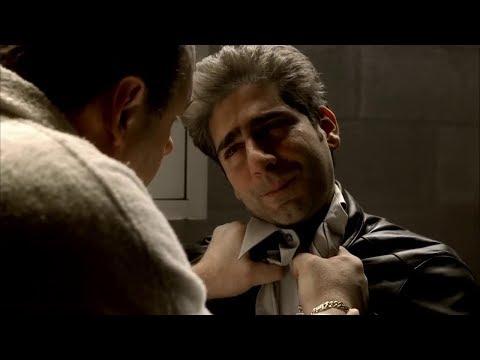 The Sopranos - The end of Adriana La Cerva