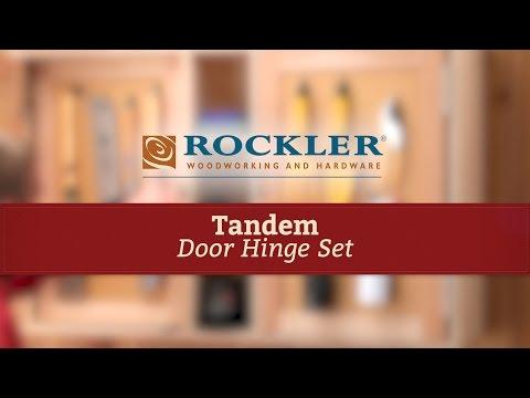 Rockler Tandem Door Hinge Set Rockler Hardware And