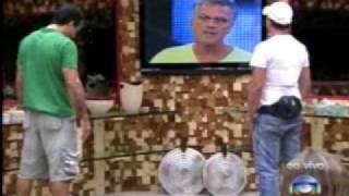 Eliminação Dicesar BBB10 - Dicesar X Dourado - O CONFRONTO F...