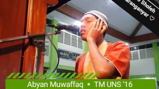 Video Menggemparkan !! Adzan Bayati _ Abyan Muwaffaq _ TM UNS'16 _ Kafila IIBS Jakarta MP3, 3GP, MP4, WEBM, AVI, FLV Maret 2019