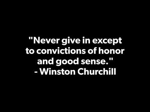 Thank you quotes - Winston Churchill - quotes