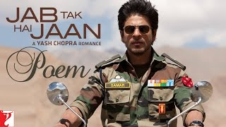 Nonton Jab Tak Hai Jaan   Poem With Opening Credits   Shah Rukh Khan Film Subtitle Indonesia Streaming Movie Download