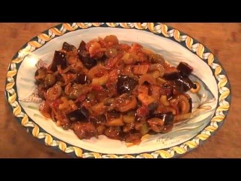 caponata siciliana - ricetta tradizionale