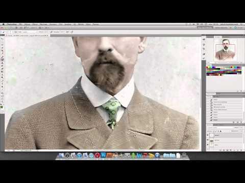 Kolorowanie czarno-bia�ych zdj�� w Photoshopie - poradnik wideo
