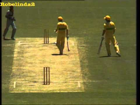 Cricket - Australian One day matches in the early 80's are often remembered for Graeme Wood's quite fucked up and completely brainless running between the wickets, he ...