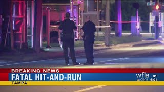 Tampa police investigating deadly hit-and-run