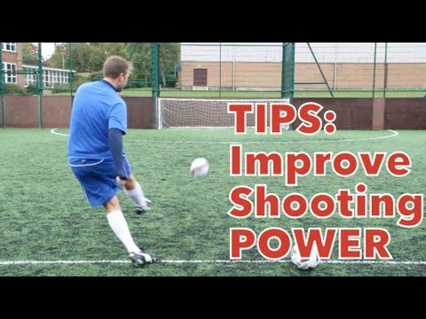 score - Learn how to improve your shooting power with these tips PLEASE SUBSCRIBE http://bit.ly/subSTR TWITTER http://www.twitter.com/STRskillSchool FACEBOOK http://...