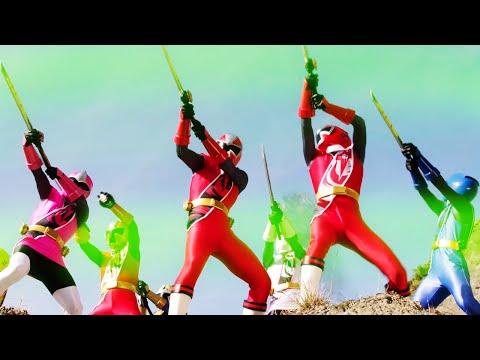 The Rangers vs Madame Odius   Super Ninja Steel   Power Rangers Official