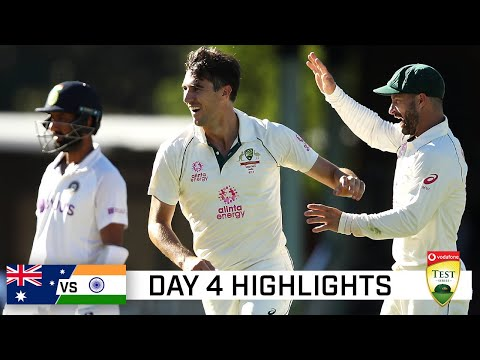 Aussies grab late wickets after Green, Smith fire | Vodafone Test Series 2020-21