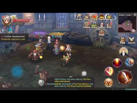 Guardians Of Fantasy Gameplay | Faction War 16 April Blue Win (видео)