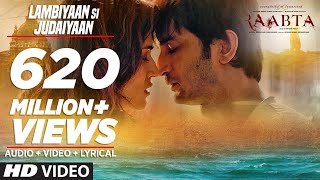 Video Arijit Singh : Lambiyaan Si Judaiyaan Song | Raabta | Sushant Rajput, Kriti Sanon | T-Series MP3, 3GP, MP4, WEBM, AVI, FLV Januari 2018