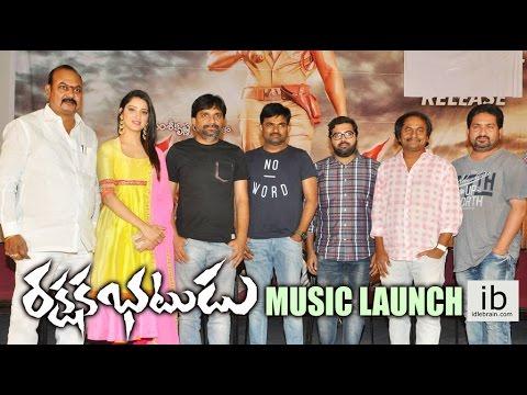 Rakshaka Bhatudu music launch