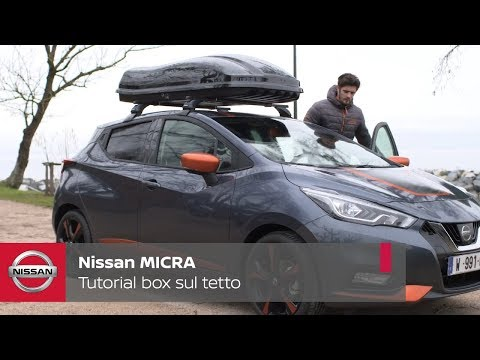 NISSAN TUTORIAL – BOX AL TETTO
