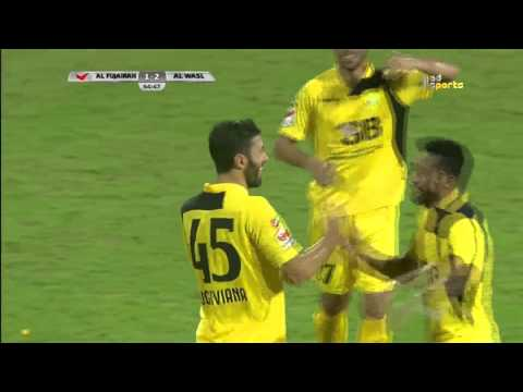 Al Wasl 5 x Fujairah 1 AG League 24 10 2015