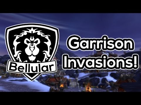 garrison - Garrison invasions are finally active in the beta! Im pretty happy about this. Its a system that could be expanded upon to provide some really interesting gameplay :D ○I Stream on Twitch.tv!...