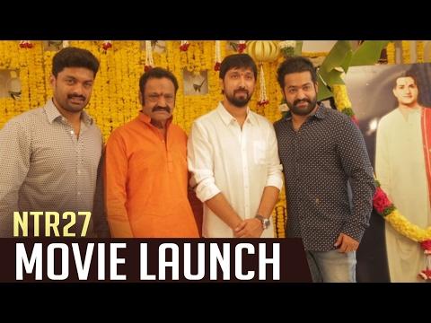 NTR 27 Movie Opening Video | NTR | Bobby | Kalyan Ram | DSP | TFPC (видео)
