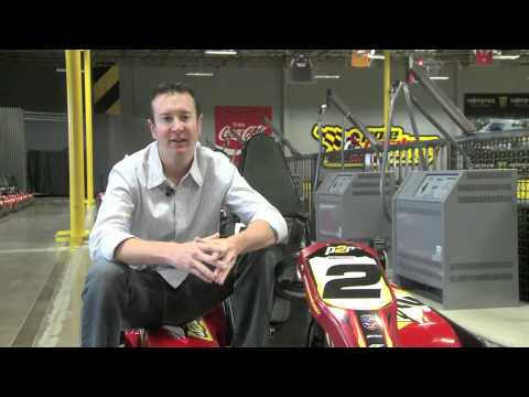 Kurt Busch Indoor Karting Driving Tips