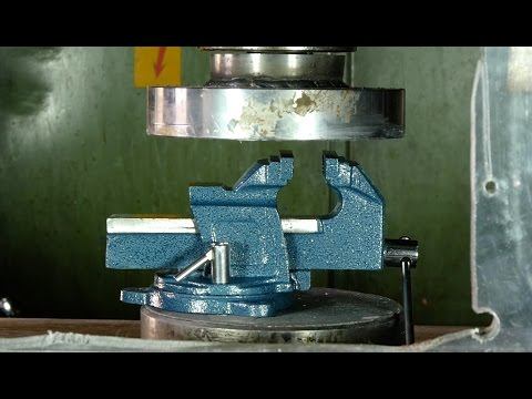 Crushing A Vice And Other Tough Stuff With A Hydraulic