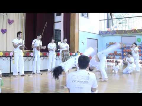 カポエイラ(東渕江小学校)20151004