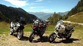 9. Comparativa Bmw R1200GS Adventure, Moto Guzzi Stelvio e Honda Varadero prima parte