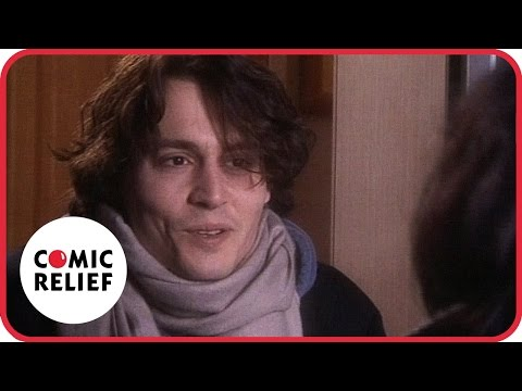 The Vicar of Dibley with Johnny Depp   Comic Relief видео