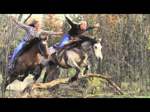 Dynamite Dames Trick Riding Promo 2015