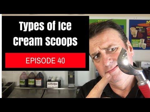 Types of Ice Cream Scoops