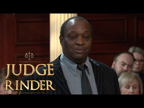 The Defendant Reveals That He's in an Enormous Amount of Debt | Judge Rinder