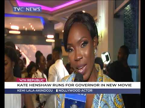 4th Republic: Kate Henshaw runs for governor in new movie