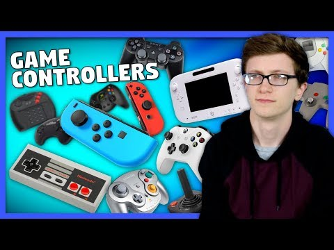 Game Controllers - Scott The Woz