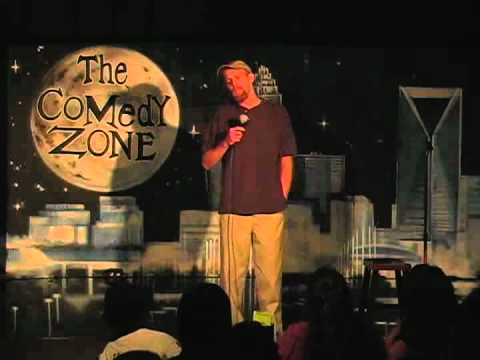 Marcus Troutman on 7-30-12 at Graduation Night for The Comedy Zone Comedy School