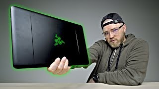 This Is My Favorite Smartphone Accessory RIGHT NOW - https://www.youtube.com/watch?v=2ZiKJJDG5KY&list=PL7u4lWXQ3wfI_7PgX0C-VTiwLeu0S4v34&index=1In this video I take a look at the new Razer Blade Stealth laptop. The Blade Stealth featured in this video is the 13.3-inch version but it also comes in a 12.5-inch version as well. It features the latest intel core processors, a touch screen, matte black aluminum finish and one of the nicest trackpads I've tested on a laptop. The Razer Blade Stealth lacks the gaming prowess of the Razer Blade Pro I featured recently. That said, the Stealth can be expanded using external desktop graphics (GTX 1080 etc.) through the Razer Core external graphics dock. If you're looking for a solid ultra portable laptop, the Razer Blade Stealth is a good choice. If you want ultimate gaming on-the-go I'd say you should step up to the Razer Blade Pro instead (assuming you're strong enough to carry it).My Razer Blade Pro video - https://www.youtube.com/watch?v=2FI_TX6KhZgFOLLOW ME IN THESE PLACES FOR UPDATESTwitter - http://twitter.com/unboxtherapyFacebook - http://facebook.com/lewis.hilsentegerInstagram - http://instagram.com/unboxtherapyGoogle Plus - http://bit.ly/1auEeak