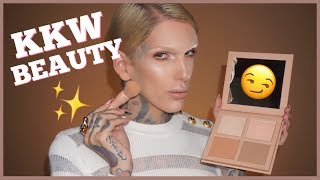 Video KIM K DRAMA?! KKW POWDER CONTOUR & HIGHLIGHT KIT REVIEW | Jeffree Star MP3, 3GP, MP4, WEBM, AVI, FLV Januari 2019