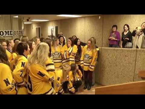 Women's Hockey Jersey Presentation