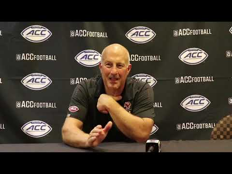 Football: Addazio Postgame Press Conference (Sept. 13, 2018)