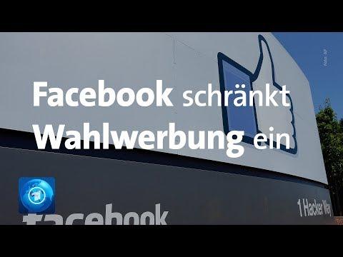 Vor Europawahl: Neue Regeln für Facebook-Werbung