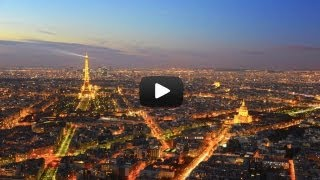 Eiffel Tower Time Lapse