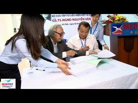 Lễ tiếp nhận bộ sưu tập tư liệu, hiện vật cá nhân của cố GS.TS. NGND Nguyễn Văn Chiển.